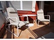 Round aluminium garden table PANAMA | Table - Sérénité Luxury Monaco