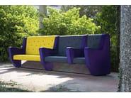 Fabric leisure sofa PANK | Sofa - Adrenalina