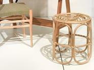 Rattan stool PAPERCLIP | Stool - Pols Potten