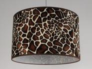 Horse hide lampshade Paralume giraffa - Ipsilon PARALUMI
