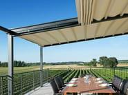 Freestanding motorized awning PAREO - Frigerio Tende da Sole