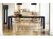 Stackable polycarbonate chair PARISIENNE - Calligaris