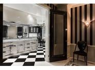 Steel kitchen with island PARK AVENUE - Officine Gullo