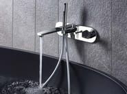 Bathtub mixer with diverter with hand shower PARK | Bathtub mixer with hand shower - NEWFORM