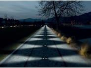 LED walkover light steplight PASSUM Sidewards - Goccia Illuminazione
