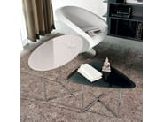 Oval crystal coffee table PAT - Cattelan Italia