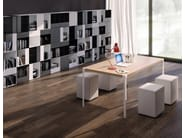 Square honeycomb table PAT | Square table - iCarraro italian makers