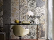 Wallpaper with floral pattern PEACOCK - Wall&decò