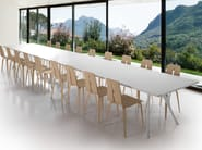 Rectangular table PEGASO SOLID - Caimi Brevetti