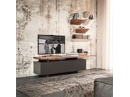 Wooden wall shelf PENDOLA - Cattelan Italia