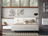 Wooden double bed PEOPLE A | Double bed - PIANCA