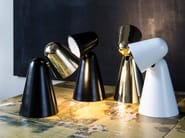 LED adjustable brass table lamp PEPPONE | Brass table lamp - Formagenda