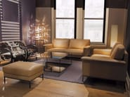 3 seater leather sofa PHILAE - Canapés Duvivier