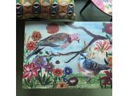 Rectangular laminate coffee table PIGEONS L - Bazartherapy