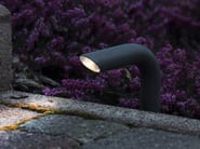 LED brass bollard light PIPA - Brillamenti by Hi Project