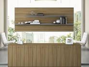 MDF office storage unit PITAGORA PLLT80 - Arcadia Componibili - Gruppo Penta