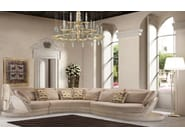 Corner upholstered Nabuk sofa PLACE ART | Sofa - Formitalia Group