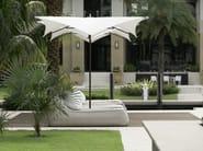 Square Garden umbrella PLANTATION MANTA - TUUCI