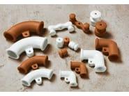 Electrical conduit PLEIADI | Wire guide in ceramic - Aldo Bernardi