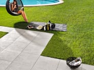 Laminated stoneware outdoor floor tiles with stone effect PLEIN AIR - COTTO D'ESTE