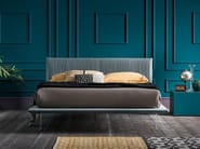 Fabric double bed with upholstered headboard PLISSÉ - Dall'Agnese