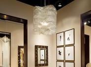 Indirect light glass pendant lamp PLISSE CLOUD - Lasvit