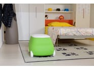 Plastic toy storage box with casters PLUST VAN - PLUST Collection by euro3plast