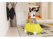 Porta giochi in plastica con ruote PLUST VAN - PLUST Collection by euro3plast