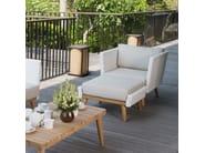 Poggiapiedi da giardino rettangolare POB 23146 - SKYLINE design