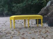Upholstered wooden bench POLART | Bench - POLaRT