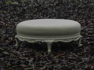 Classic style upholstered pouf POLART | Pouf - POLaRT