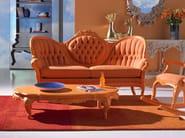 Tufted 3 seater fabric sofa POLART | Tufted sofa - POLaRT