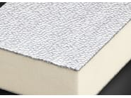 Synthetic material thermal insulation panel POLIISO AD | Polyurethane foam thermal insulation panel - Ediltec