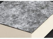 Synthetic material thermal insulation panel POLIISO SB HD | Polyurethane foam thermal insulation panel - Ediltec