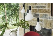 Blown glass pendant lamp POM POM | Pendant lamp - Calligaris
