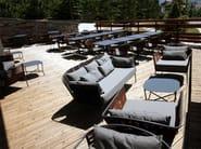 Sunbrella® garden armchair PORTOFINO | Armchair with armrests - Sérénité Luxury Monaco