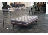 Leather pouf / footstool POUF ALONSO | Pouf - Domingo Salotti