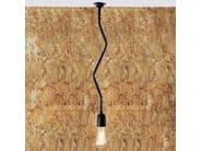Handmade brass pendant lamp POWELL B QUIRKY MINIMALIST PENDANT - Mullan Lighting