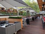 Poltroncina da giardino con braccioli PRAGUE   Poltroncina con braccioli - 7OCEANS DESIGNS