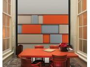 Decorative acoustical panels PRESIDENT - Caimi Brevetti