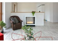 Open bioethanol fireplace with remote control PRIMEBOX | Fireplace with remote control - Planika
