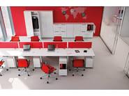 Metal office storage unit / safe-deposit box PRIMO LOCKERS - Dieffebi