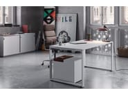 Metal office storage unit with sliding doors PRIMO SLIDING DOORS | Office storage unit - Dieffebi