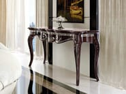 Lacquered solid wood console table PRINCESS | Console table - Arvestyle
