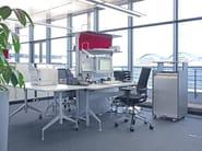 Parete mobile per ufficio PROCESS E_STATION - Wiesner-Hager