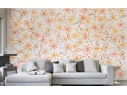 Wallpaper with floral pattern PROFILI FLOREALI - Wallpepper