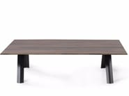 Low rectangular coffee table for living room PROPELLER | Coffee table - Joli