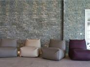 Fabric garden armchair PUFFONE | Bean bag - GART Art & Design Group