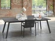 Sedia impilabile in alluminio con braccioli PURE ALU | Sedia impilabile - solpuri