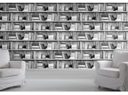 Wallpaper PHOTOCOPY BOOKSHELF - Mineheart